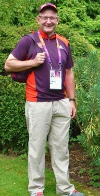 Geoff at Olympics