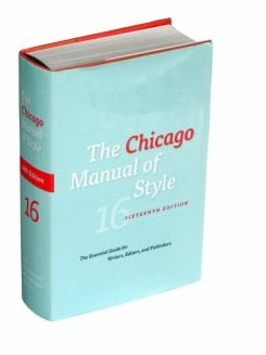 """Chicago Manual of Style"""