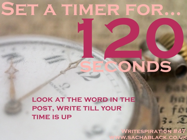 Write for 120 seconds