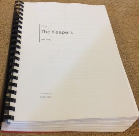 Another shot of my manuscript which is now collecting dust... can I edit yet?