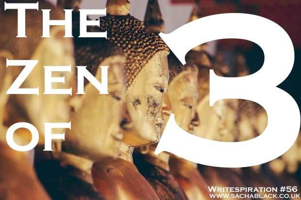 Write about the zen of the number 3