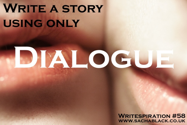 Write a story only using dialogue