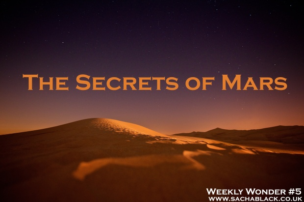 The Secrets of Mars Weekly Wonder #5 Inspiration for Writers