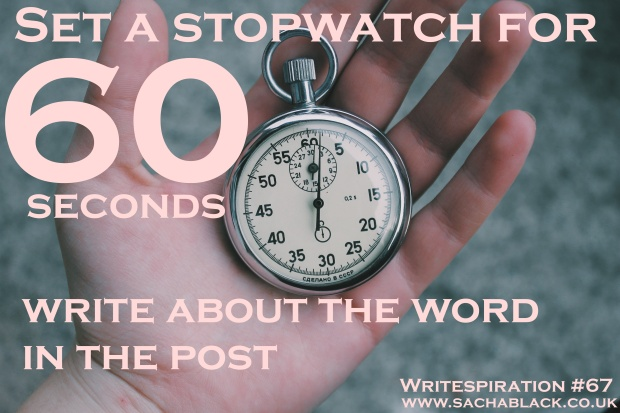 Write a story in 60 seconds