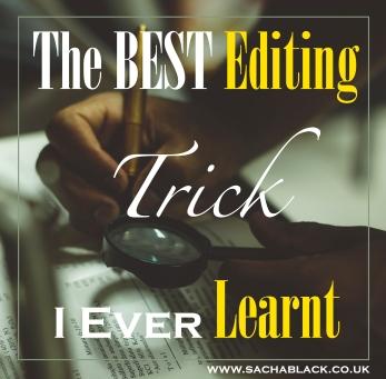 Editing Trick